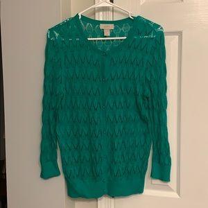 Green Loft Women's cardigan sweater - medium